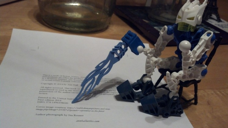 writing bionicle ISBN